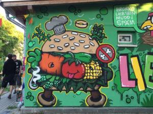 Veggie Burger for Soziales Zentrum Norderstedt / 2015