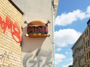 PUSH burger / Styrocut collab with PUSH crew
