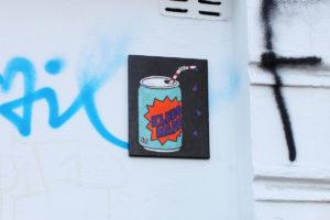 Painted tile / Hamburg Altona