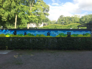 Stadtpark Hamburg Open Air Stage / with Bronko, King FF_art & Human / 2017